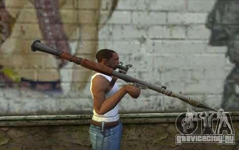 РПГ-7В from Battlefield: Vietnam для GTA San Andreas третий скриншот