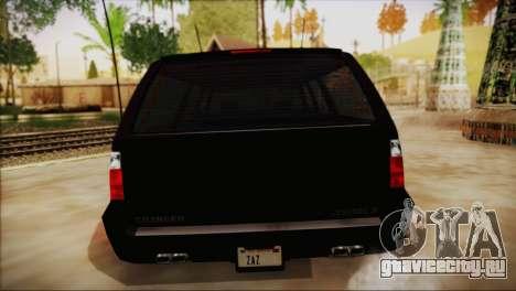 GTA 5 FIB Granger для GTA San Andreas вид справа
