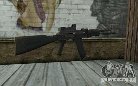 AK-107 для GTA San Andreas второй скриншот