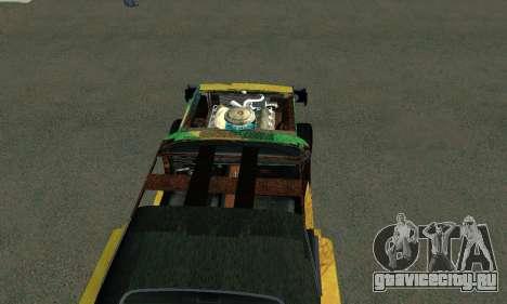 Dodge Charger HL2 EP2 для GTA San Andreas вид сзади слева