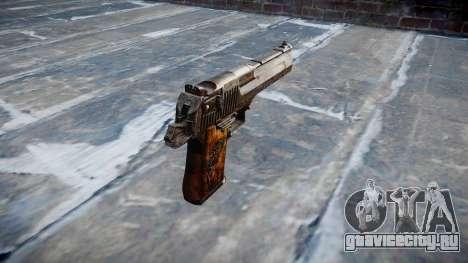 Пистолет Desert Eagle Dragon для GTA 4 второй скриншот