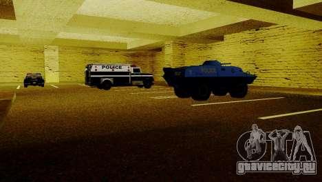 Новые транспортные средства в LSPD для GTA San Andreas пятый скриншот