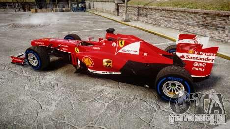 Ferrari F138 v2.0 [RIV] Alonso TFW для GTA 4 вид слева