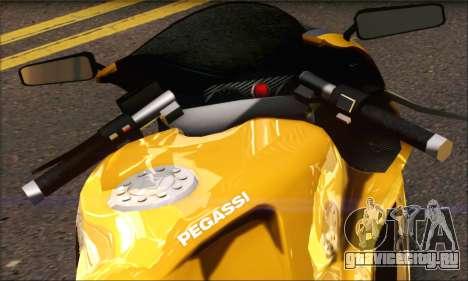 GTA 5 Pegassi Bati 801 для GTA San Andreas вид сзади слева
