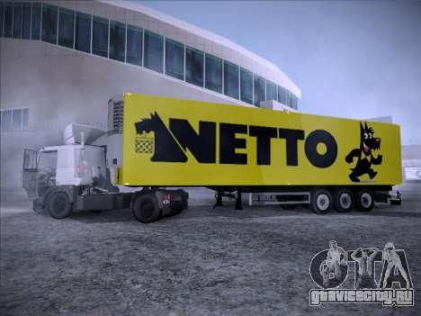 Trailer NETTO для GTA San Andreas