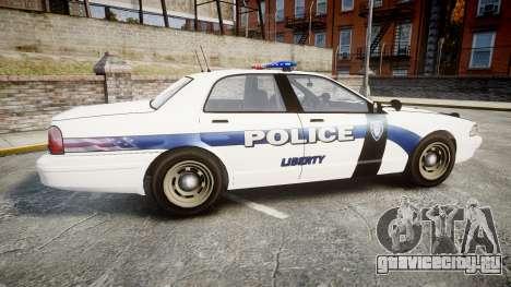 GTA V Vapid Cruiser LP [ELS] для GTA 4 вид слева