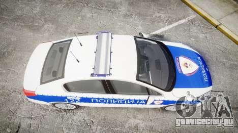 Peugeot 508 Republic of Srpska [ELS] для GTA 4 вид справа
