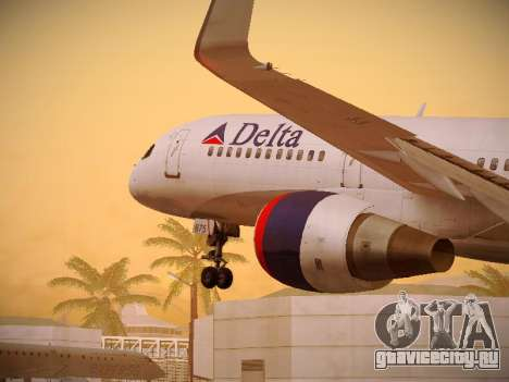 Boeing 757-232 Delta Airlines для GTA San Andreas