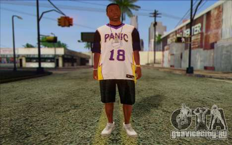 Ballas from GTA 5 Skin 3 для GTA San Andreas