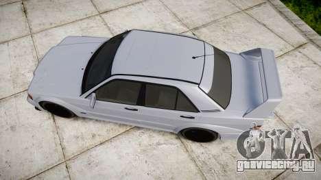 Mercedes-Benz 190E Evolution II для GTA 4 вид справа