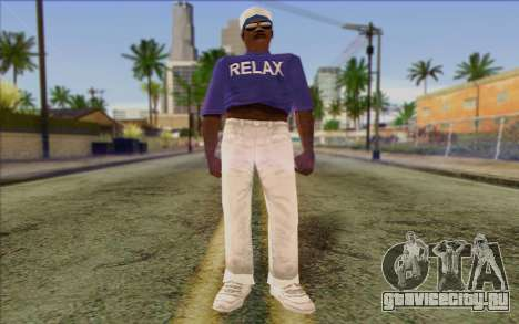 Haitian from GTA Vice City Skin 1 для GTA San Andreas