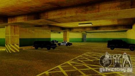Новые транспортные средства в LVPD для GTA San Andreas пятый скриншот