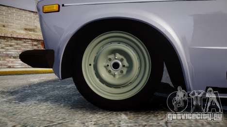ВАЗ-2106 шестёрка для GTA 4 вид сзади