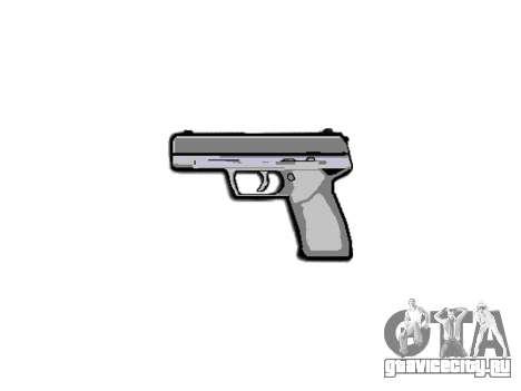 Пистолет Taurus 24-7 black icon3 для GTA 4 третий скриншот