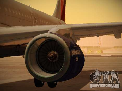 Airbus A321-232 jetBlue Boston Red Sox для GTA San Andreas колёса