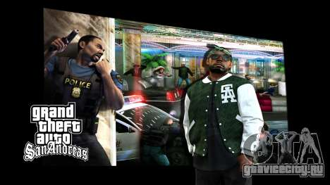 Экраны загрузки для GTA San Andreas второй скриншот