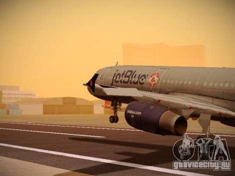 Airbus A321-232 jetBlue Boston Red Sox для GTA San Andreas