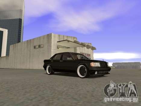 Mercedes-Benz 190E 3.2 AMG для GTA San Andreas