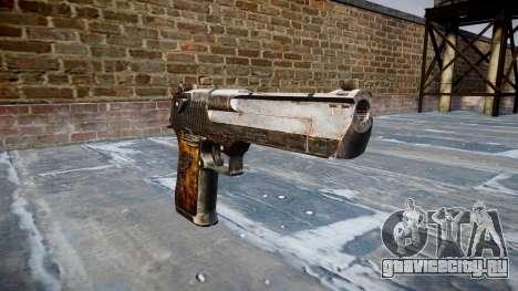 Пистолет Desert Eagle Dragon для GTA 4