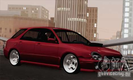 Subaru Impreza Wagon 2002 для GTA San Andreas