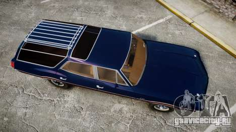 Oldsmobile Vista Cruiser 1972 Rims2 Tree4 для GTA 4 вид справа