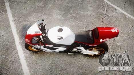 Daytona 675R 2011 для GTA 4 вид справа
