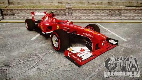 Ferrari F138 v2.0 [RIV] Massa TSSD для GTA 4