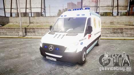 Mercedes-Benz Sprinter ARM Ambulance [ELS] для GTA 4