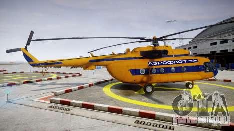 Ми-8 для GTA 4 вид слева