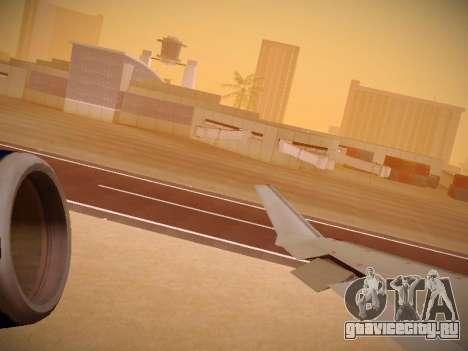 Bombardier CRJ-700 United Express для GTA San Andreas двигатель