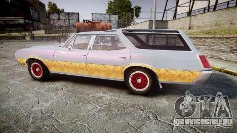 Oldsmobile Vista Cruiser 1972 Rims1 Tree6 для GTA 4 вид слева