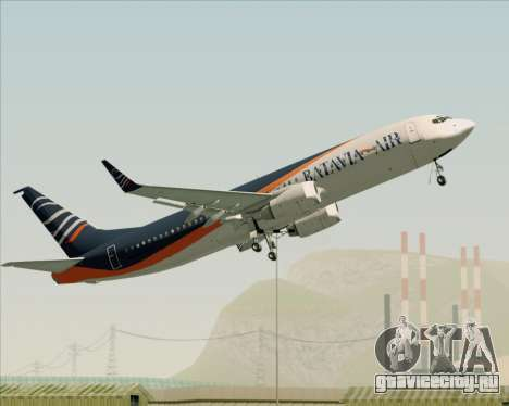 Boeing 737-800 Batavia Air (New Livery) для GTA San Andreas