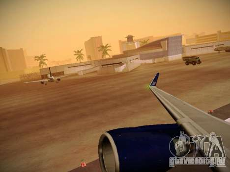 Boeing 757-224 United Airlines для GTA San Andreas