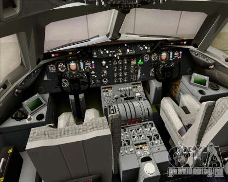 McDonnell Douglas DC-10-30 Northwest Airlines для GTA San Andreas салон