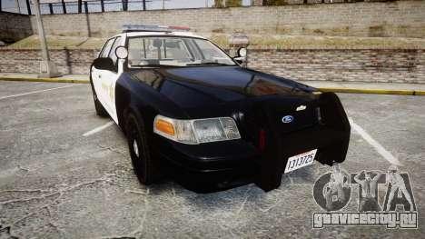 Ford Crown Victoria LASD [ELS] Marked для GTA 4