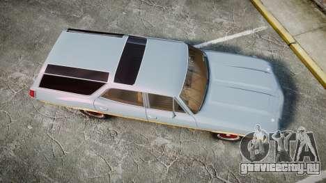 Oldsmobile Vista Cruiser 1972 Rims1 Tree6 для GTA 4