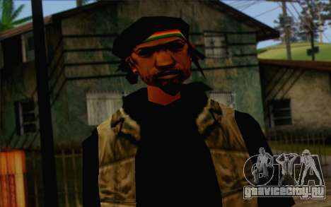 Yardies from GTA Vice City Skin 1 для GTA San Andreas третий скриншот
