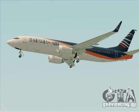 Boeing 737-800 Batavia Air (New Livery) для GTA San Andreas салон