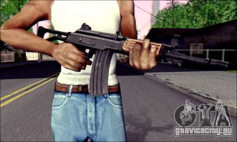 IMI Galil для GTA San Andreas третий скриншот