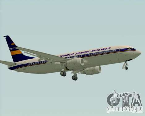 Boeing 737-800 World Travel Airlines (WTA) для GTA San Andreas вид слева