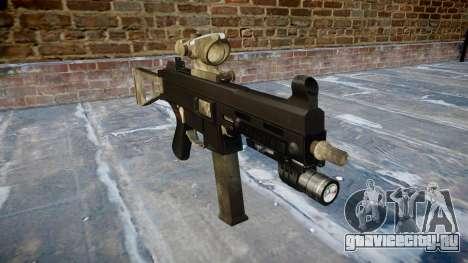 Пистолет-пулемёт UMP45 A-TACS AU для GTA 4