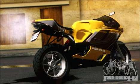 GTA 5 Pegassi Bati 801 для GTA San Andreas вид слева