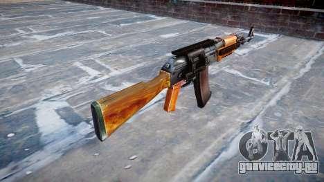 Автомат Калашникова модернизированный (АКМ) для GTA 4 второй скриншот