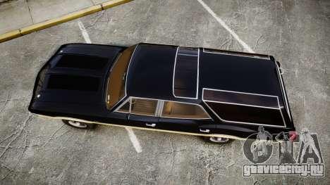 Oldsmobile Vista Cruiser 1972 Rims2 Tree1 для GTA 4 вид справа