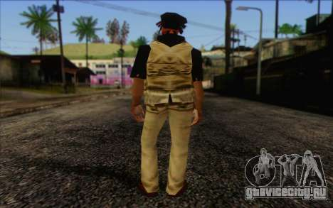 Yardies from GTA Vice City Skin 1 для GTA San Andreas второй скриншот