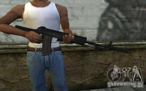 Автомат Никонова для GTA San Andreas третий скриншот