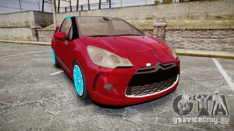 Citroen DS3 Convertible для GTA 4
