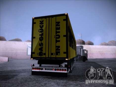 Trailer NETTO для GTA San Andreas вид слева