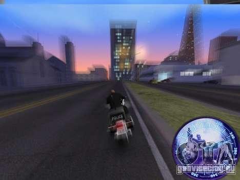 Спидометр HITMAN для GTA San Andreas третий скриншот
