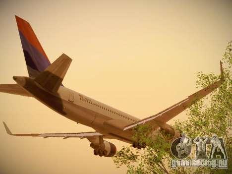 Boeing 757-232 Delta Airlines для GTA San Andreas вид сзади